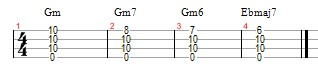 While My Guitar Gently Weeps example 4