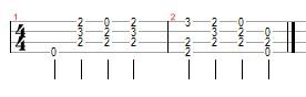 monkees ukulele tab prechorus daydream believer