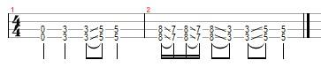 black sabbath iron man ukulele