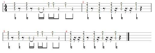 le freak ukulele tab
