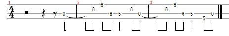 Metallica Enter Sandman ukulele tab