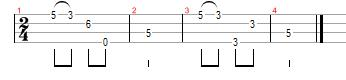 Jingle Bells ukulele tab