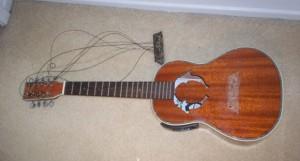 lawson 8 string ukulele