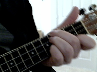 10 ways to play an e chord on the ukulele. Black Bedroom Furniture Sets. Home Design Ideas