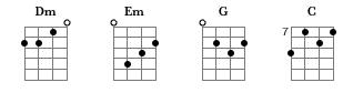 Tabular Chords
