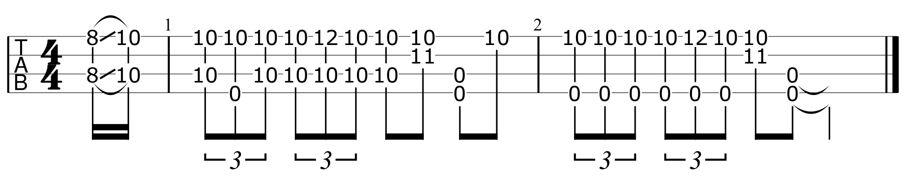 Five Blues Licks from the Masters