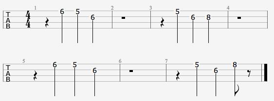 Ukulele ukulele tabs up theme song : Ghostbusters Theme (Group Tab)